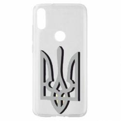 Чохол для Xiaomi Mi Play Двокольоровий герб України