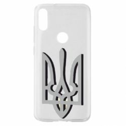 Чехол для Xiaomi Mi Play Двокольоровий герб України