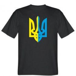 Мужская футболка Двокольоровий герб України - FatLine