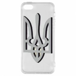 Чехол для iPhone5/5S/SE Двокольоровий герб України