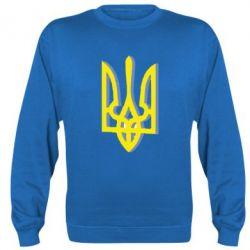 Реглан (свитшот) Двокольоровий герб України