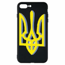 Чохол для iPhone 8 Plus Двокольоровий герб України