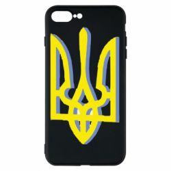 Чехол для iPhone 8 Plus Двокольоровий герб України