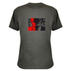 Камуфляжная футболка Двоякость Death Note - FatLine