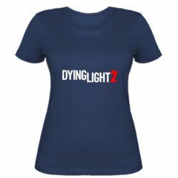 Жіноча футболка Dying Light 2 logo