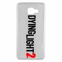 Чохол для Samsung A7 2016 Dying Light 2 logo