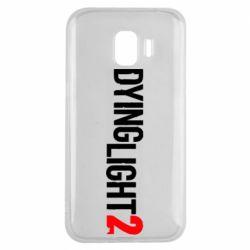 Чохол для Samsung J2 2018 Dying Light 2 logo