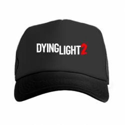 Кепка-тракер Dying Light 2 logo