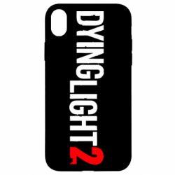 Чохол для iPhone XR Dying Light 2 logo