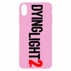 Чохол для iPhone Xs Max Dying Light 2 logo