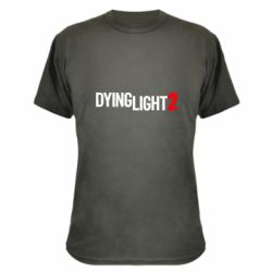 Камуфляжна футболка Dying Light 2 logo