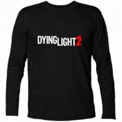Футболка з довгим рукавом Dying Light 2 logo