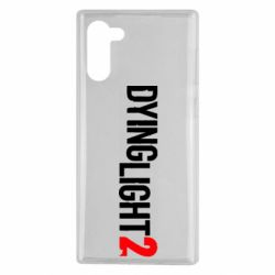 Чохол для Samsung Note 10 Dying Light 2 logo