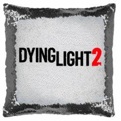 Подушка-хамелеон Dying Light 2 logo