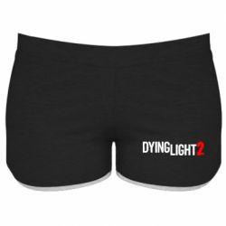 Жіночі шорти Dying Light 2 logo