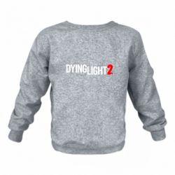 Дитячий реглан (світшот) Dying Light 2 logo
