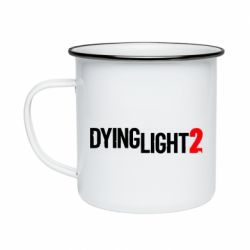 Кружка емальована Dying Light 2 logo