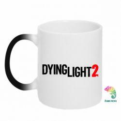 Кружка-хамелеон Dying Light 2 logo