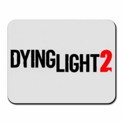 Килимок для миші Dying Light 2 logo