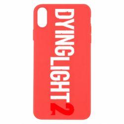 Чохол для iPhone X/Xs Dying Light 2 logo