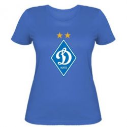 Женская футболка Dynamo Kiev - FatLine