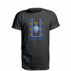 Удлиненная футболка Dynamo logo and ornament