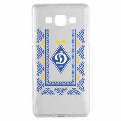 Чехол для Samsung A5 2015 Dynamo logo and ornament