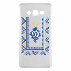 Чехол для Samsung A7 2015 Dynamo logo and ornament