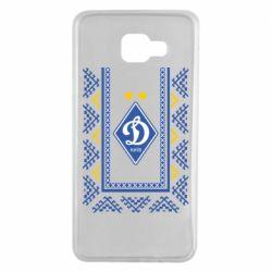 Чехол для Samsung A7 2016 Dynamo logo and ornament