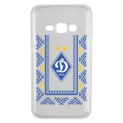 Чехол для Samsung J1 2016 Dynamo logo and ornament