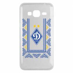 Чехол для Samsung J3 2016 Dynamo logo and ornament