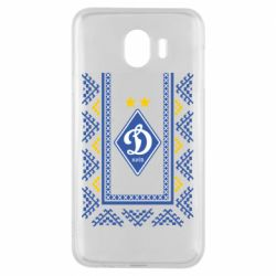 Чехол для Samsung J4 Dynamo logo and ornament