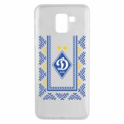 Чехол для Samsung J6 Dynamo logo and ornament