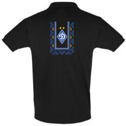 Мужская футболка поло Dynamo logo and ornament