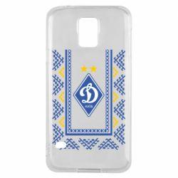 Чехол для Samsung S5 Dynamo logo and ornament