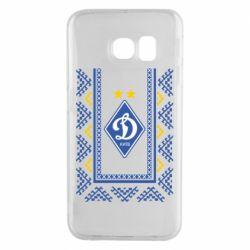 Чехол для Samsung S6 EDGE Dynamo logo and ornament