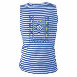 Майка-тельняшка Dynamo logo and ornament