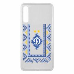 Чехол для Samsung A7 2018 Dynamo logo and ornament