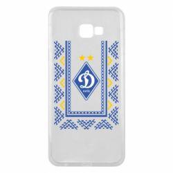 Чехол для Samsung J4 Plus 2018 Dynamo logo and ornament