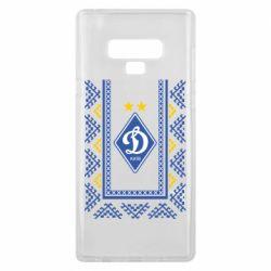 Чехол для Samsung Note 9 Dynamo logo and ornament