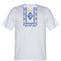 Мужская футболка Dynamo logo and ornament