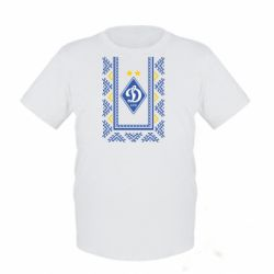 Детская футболка Dynamo logo and ornament