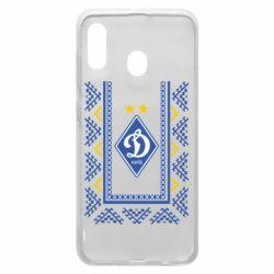 Чехол для Samsung A20 Dynamo logo and ornament