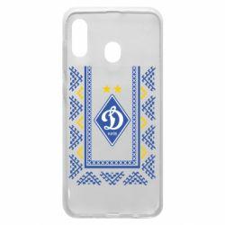 Чехол для Samsung A30 Dynamo logo and ornament