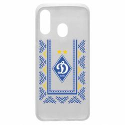 Чехол для Samsung A40 Dynamo logo and ornament