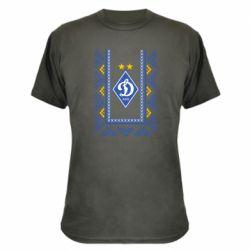 Камуфляжная футболка Dynamo logo and ornament