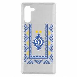 Чехол для Samsung Note 10 Dynamo logo and ornament