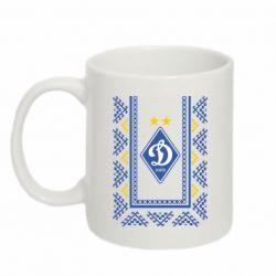Кружка 320ml Dynamo logo and ornament