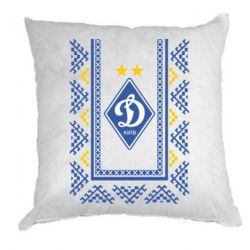 Подушка Dynamo logo and ornament
