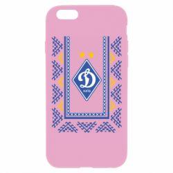 Чехол для iPhone 6 Plus/6S Plus Dynamo logo and ornament
